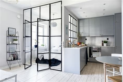 kleine wohnung einrichten intelligente wände glasw 228 nde f 252 rs innendesign eine interessante