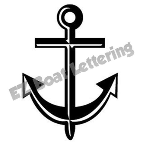 boat anchor decal anchor 2 boat graphic decal vinyl