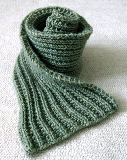 how to purl knit a scarf easy mistake stitch scarf purl soho