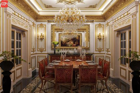 marvelous Dining Room For Small Space #3: Royal-Dining-Room-Decor-Idea.jpg