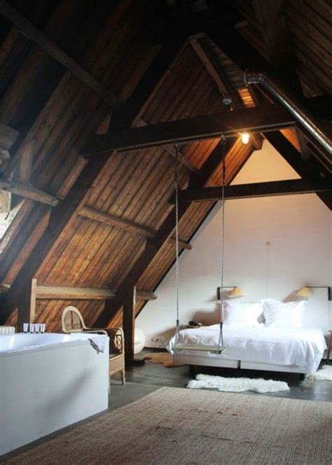 10 attic loft bedrooms rustic edition