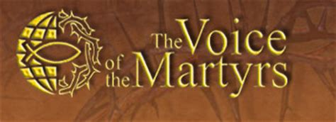 The Voices Of Martyrs national international cf part 2