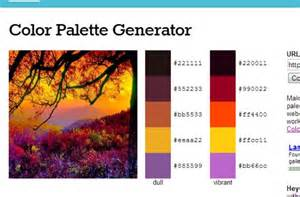 color pallette generator color palette generator crafty