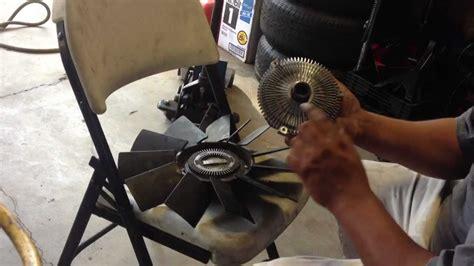 2003 bmw 525i fan clutch how to replace fan clutch from fan blades 97 03 bmw 5