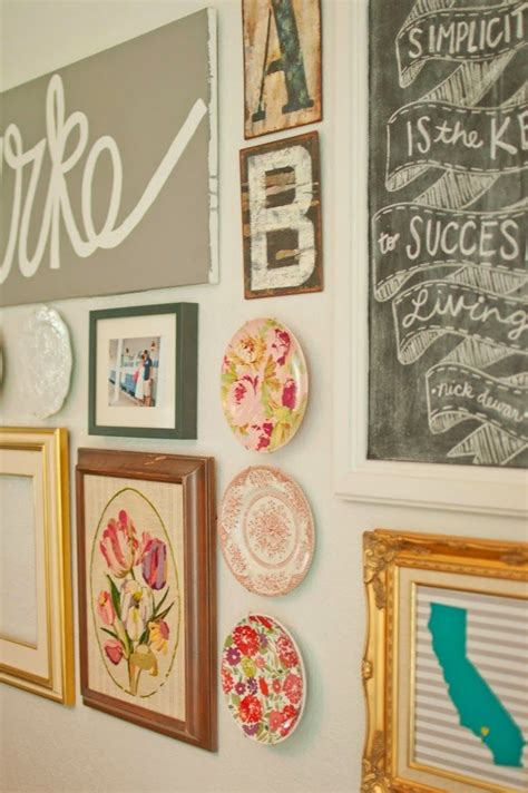gallery wall design 15 ways to make a plate wall pretty designs