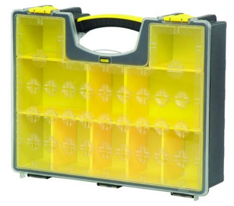 Stanley Closet Organizer by Stanley 014710r 10 Removable Compartment Professional