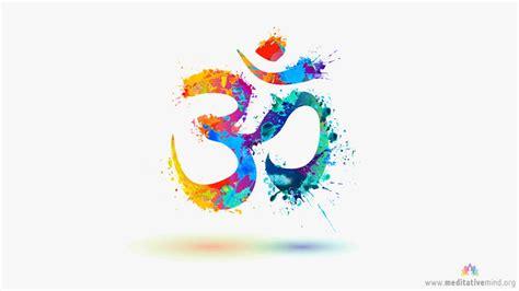 watercolor ohm om mantra wallpaper hd meditative mind