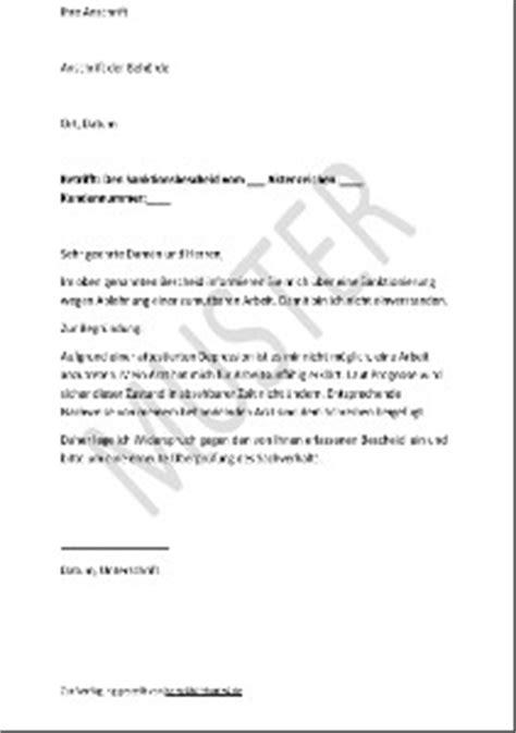 Schreiben An Jobcenter Muster Hartz 4 Antrag Muster F 252 R Alle Belange Hartz Iv Alg 2