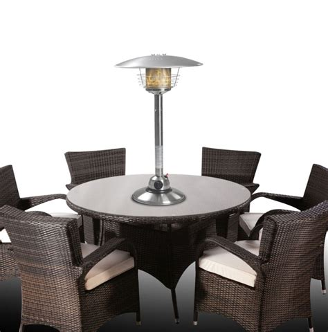 Table Top Gas Patio Heater Firefly Table Top Gas Patio Heater 4kw 163 74 99