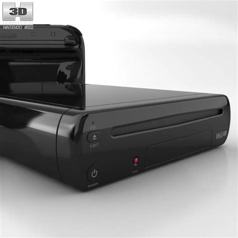 Wii U Models nintendo wii u 3d model hum3d