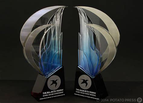 Trophy Acrylic press release royal qld yacht club trophy design