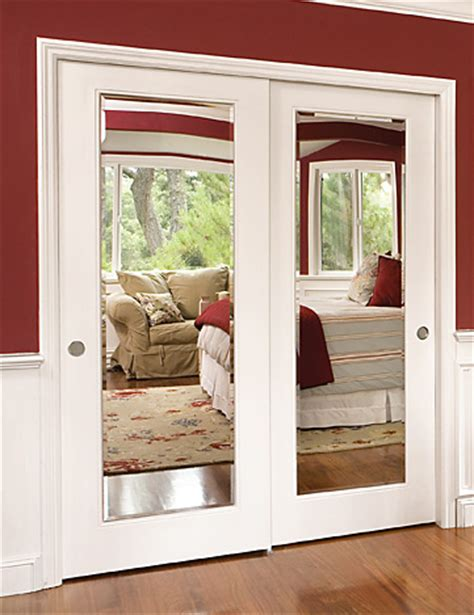 Moulding On Your Ugly Sliding Glass Closet Doors These Sliding Glass Mirror Closet Doors