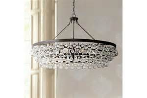 Robert Abbey Bling Collection Large Deep Bronze Chandelier Robert Abbey Bling Large Deep Bronze 35 Inch W Chandelier