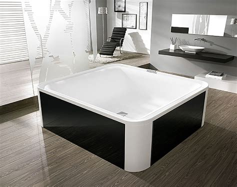 vasche da bagno da appoggio vasca da bagno quadrata 20 modelli da appoggio e da