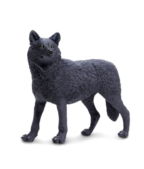 t wolf figure safari ltd ww black wolf figure figures buy