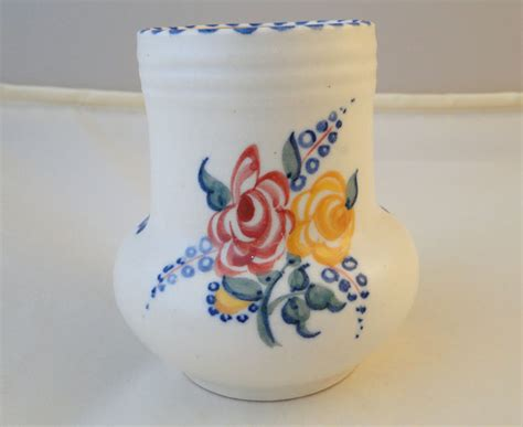 Poole Pottery Vase Patterns by Poole Pottery Painted Small Traditional Vase In The