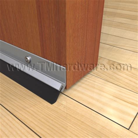 Exterior Door Bottom Sweep High Quality Door Bottom Sweep With 375 Quot Angled Or Soft Brush Sold By Trademark Hardware