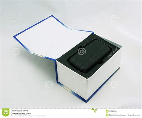 mobile phone package package box for mobile phone stock photo image 47690400
