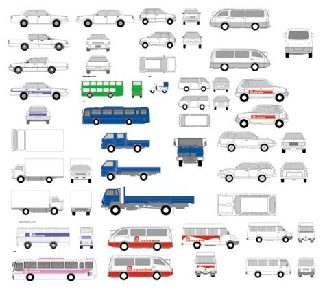 vehicle vector templates jeeps car graphics collection my free photoshop world
