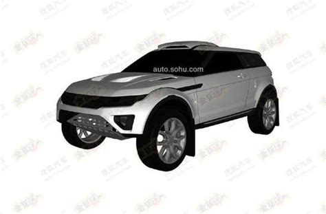 range rover evoque drawing dakar like range rover evoque shows up in patent drawings
