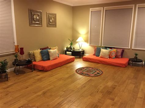 home and decor flooring indian inspired living room h o m e i d e a s indian mattress and corner table