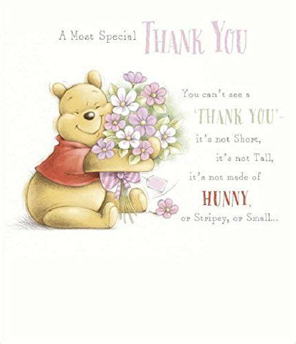 Winnie Pooh Thank You Cards