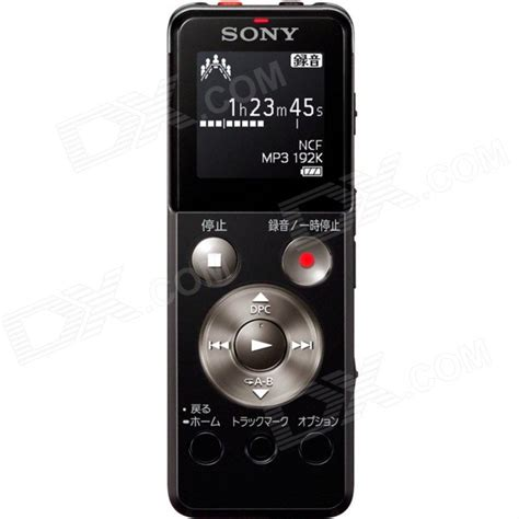 Sony Icd Ux560f 4gb Ux Series Digital Voice Recorder Sony Icd Ux543f 4gb Ux Series Digital Voice Recorder Black Free Shipping Dealextreme