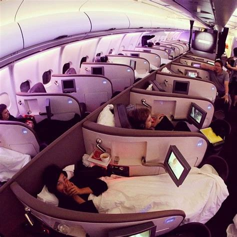 plane bed planes with beds virginatlantic you ve ruined us for any