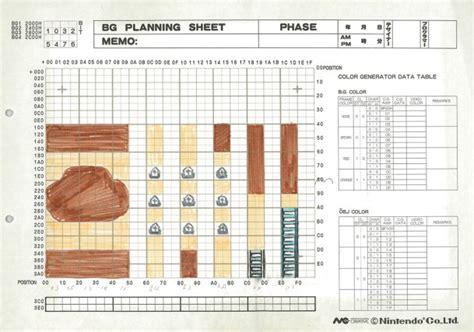 game design document zelda the legend of zelda s original design documents released