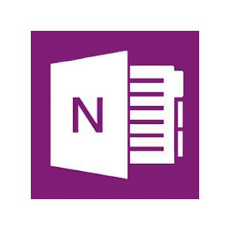 Microsoft Onenote Icon   Free Icons and PNG Backgrounds