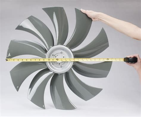 multi wing fan blades how to determine the diameter of an axial flow fan