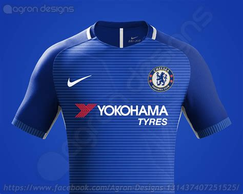 Bahan Ny Chelsea Away 17 18 stunning nike chelsea 17 18 concept kits revealed footy headlines