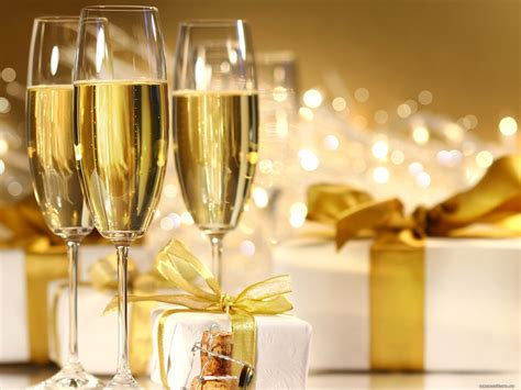 best new years drinks chagne glasses best clipart drinks golden holidays