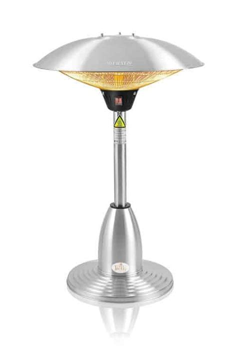 Tabletop Patio Heater Reviews Top 8 Best Patio Heaters For 2017 Gas Electric Models Compared Pyracantha Co Uk