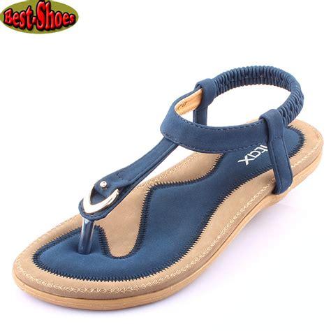 New 2015 Women Summer Style Flat Shoes Women Flat Heel
