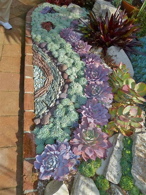 Succulent Garden Layout 50 Best Succulent Garden Ideas For 2016