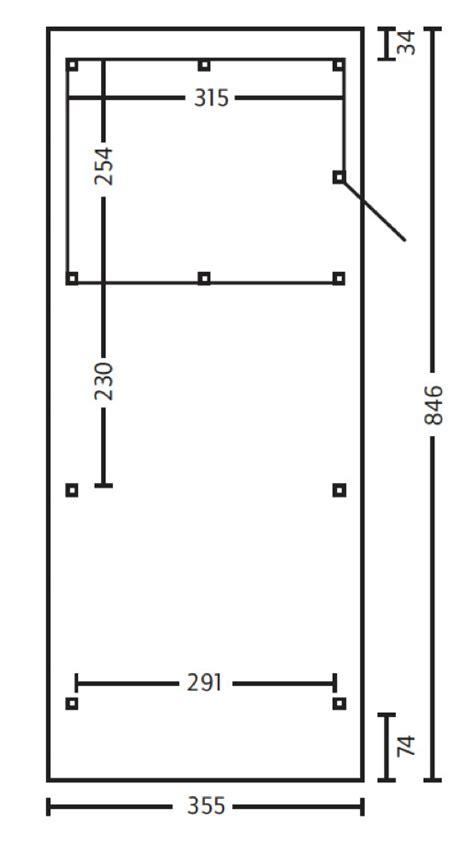 carport abmessungen holz carport skanholz 171 spessart 187 flachdach einzelcarport