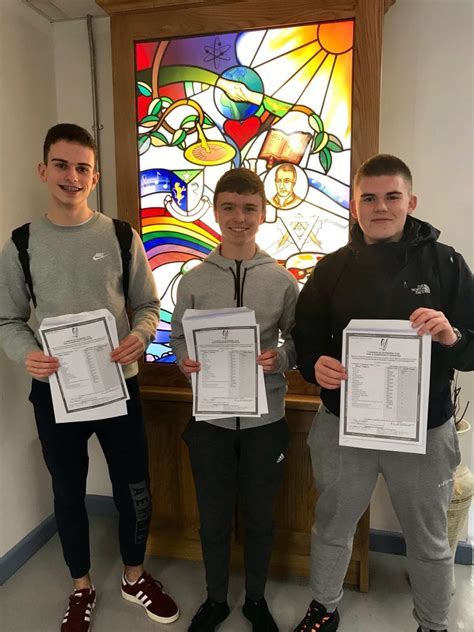 junior cert results  naas cbs
