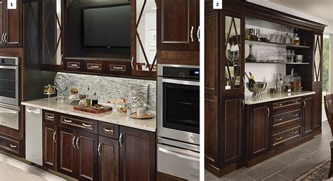 what is the area above kitchen cabinets called 7 creative ways to design your kitchen layout for