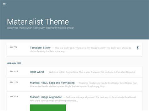 theme google material top 10 material design wordpress themes plugins