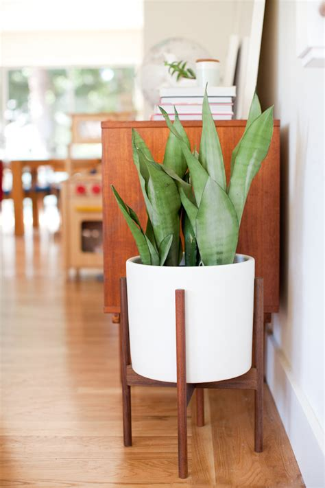 modern wood planter giveaway mid century modern planter with modernica this this