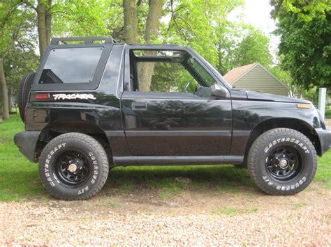 tracker jeep geo suzuki sidekick convertible tracker runs well jeep suv