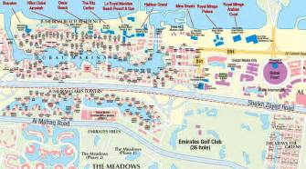 map of hotels in uae dubai metro city streets hotels airport travel map