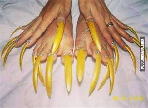 Long Nails Meme - long ghetto nails ghetto red hot