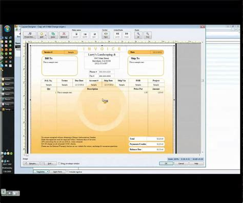 quickbook invoice templates customizing your quickbooks invoice template