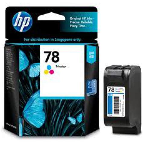 Tinta Hp 78 by Cartucho Original De Tinta Tricolor Hp 78 Deskjet C6578dl