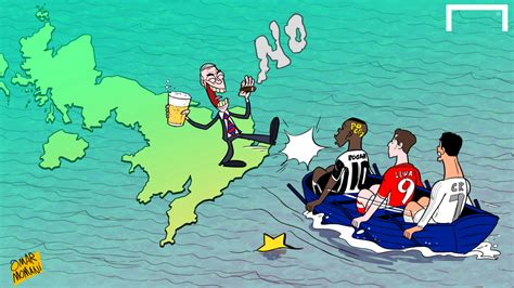 cartoon brexit boat brexit will not create a better england team that can win