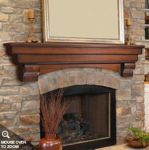 wooden mantel shelf plans diy