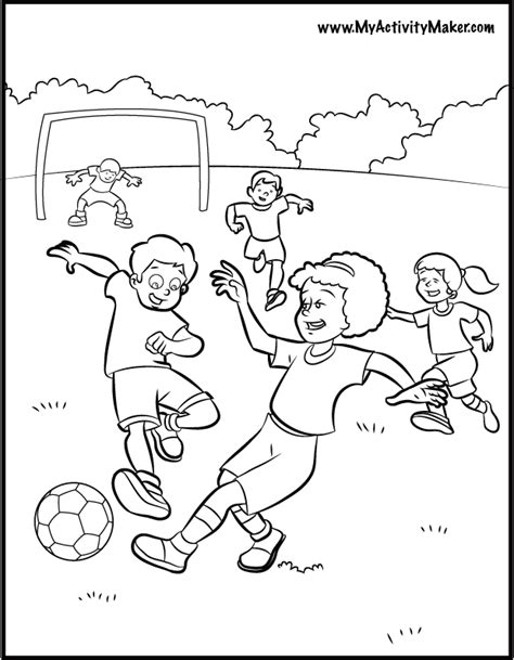 coloring pages coloring pages sports my activity maker