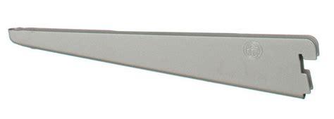 5 Inch Shelf Brackets by 18 5 Inch Solid Wood Shelf Bracket Nickel In Freedomrail